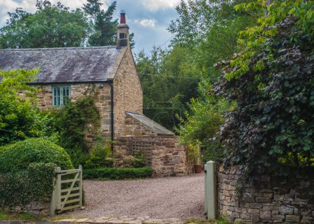 English Country Stone Cottage