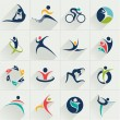 Fitness social relationship sport people and commu...
