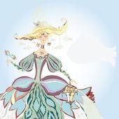 Masquerade Girl - Vector