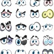 Further collection of cartoon eyes for you to add ...