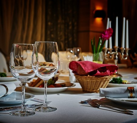 Photo for Restaurant set - Royalty Free Image