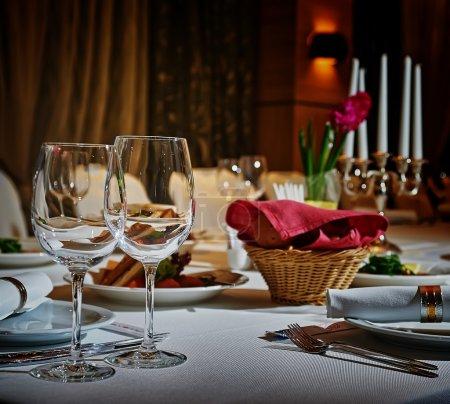 Photo pour Jeu de restaurant - image libre de droit