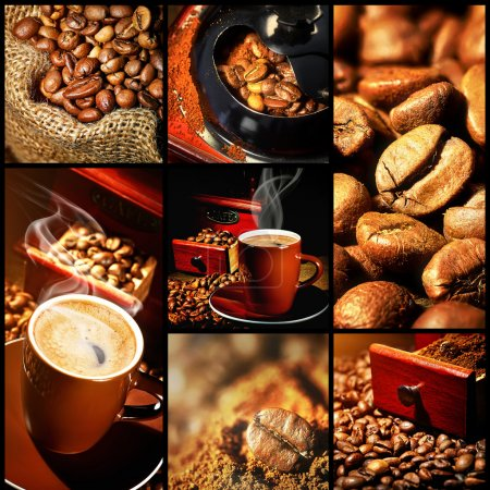 Photo for Coffee Collage - Royalty Free Image