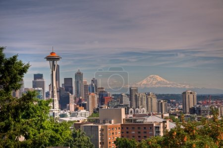 Seattle and Ranier
