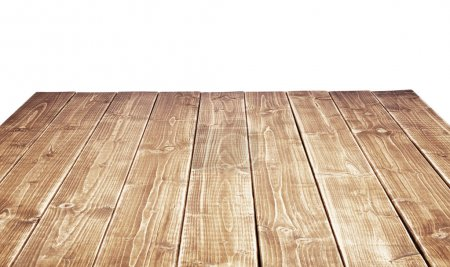 Photo for Empty wooden table top - Royalty Free Image