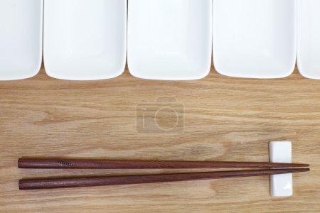 Asian table setting