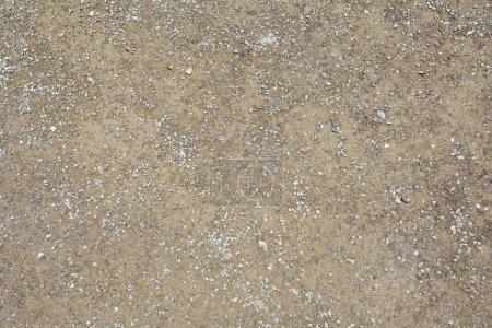 Photo pour Texture de plancher de terrazzo, fond composé d'éclats de marbre ou de granit situé dans béton et polis pour donner un bon surfacetexture - image libre de droit