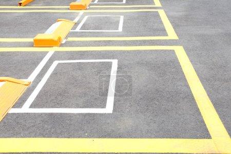 Outdoor car parking