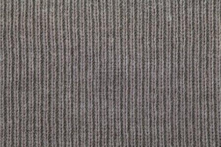 Foto de Textura de la tela gris. Fondo de la ropa. Cierre para arriba - Imagen libre de derechos