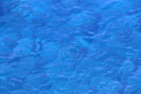 Photo pour Photo de l'eau de mer transparente . - image libre de droit