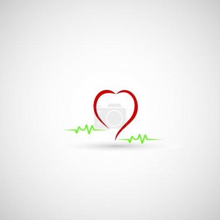 Abstract Heart Beat icon
