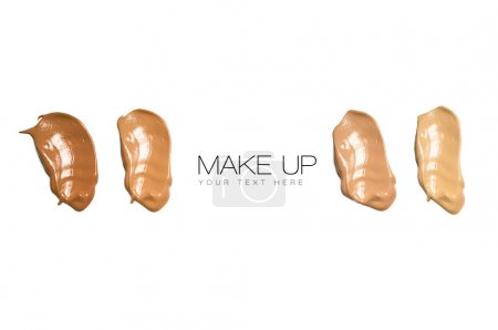 Color Swatches Foundation Makeup