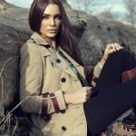Fashion woman outdoor...