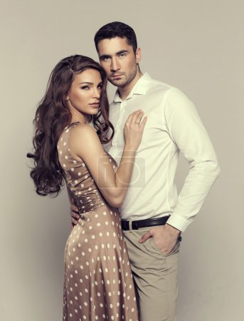 Attractive young couple
