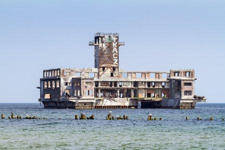 Photo pour Fragment wermacht usines pour la production de torpilles de la guerre mondiale - image libre de droit