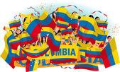 Colombia Soccer fans