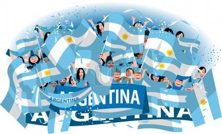Argentina Soccer fans
