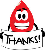 Thanks For Donating Blood