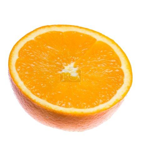 Photo pour Fresh fruits orange sur fond clair - image libre de droit