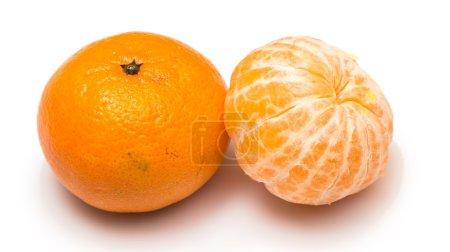 Mandarina o fruta de la tagerina