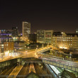 Birmingham cityscape at night...