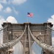 Постер, плакат: Brooklyn Bridge in New York City