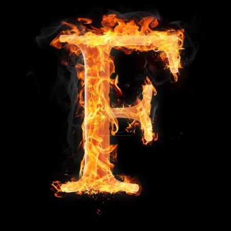 Brûler des objets et des objets sur fond de feu