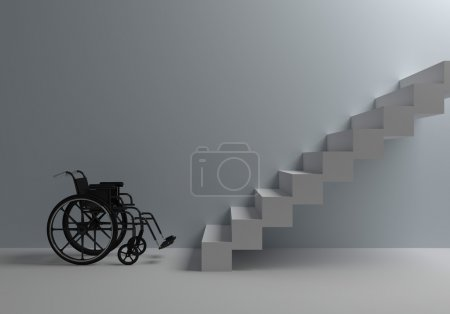 Photo for Problems of with disabilities - Royalty Free Image