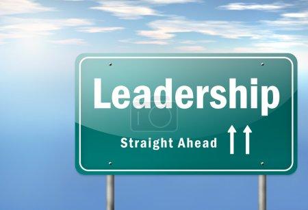 Highway Signpost Leadership