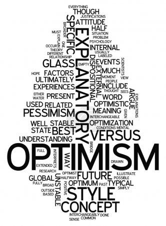 Word Cloud Optimism
