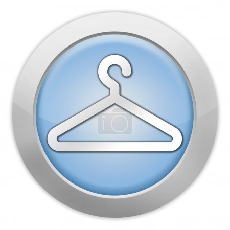 Photo for Icon, Button, Pictogram with Coat Hanger symbol - Royalty Free Image