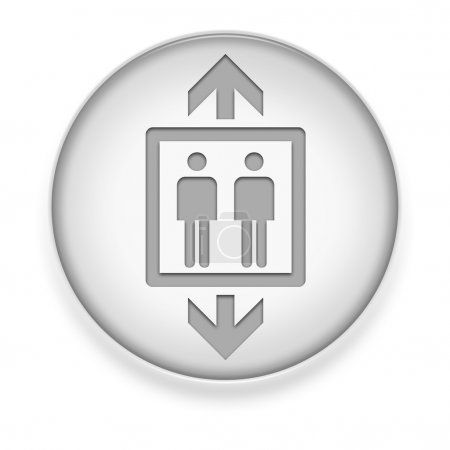 Icon, Button, Pictogram Elevator