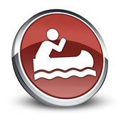 Icon, Button, Pictogram Canoeing