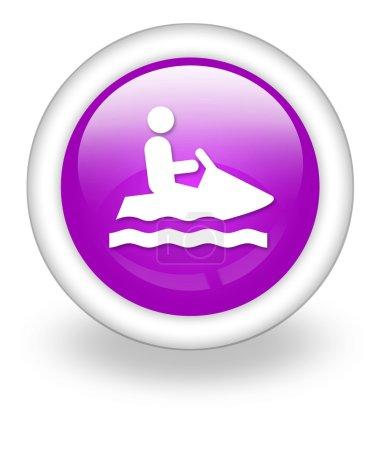 Icon, Button, Pictogram Personal Watercraft