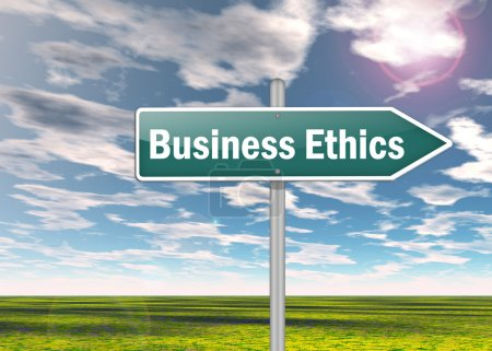 Signpost Business Ethics