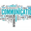 Word Cloud with Communication related tags...