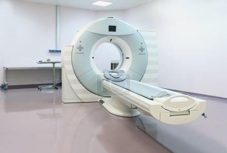 CT scanner.