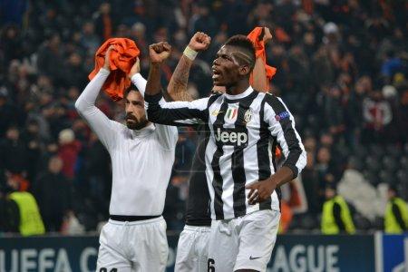 Shakhtar Juventus Pogba and Pirlo