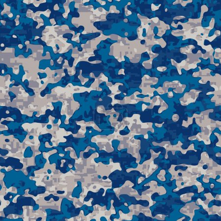 Navy camouflage pattern