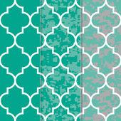 Set of 3 Seamless Moroccan Lattice  Pattern