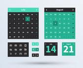 UI set the flat design trend