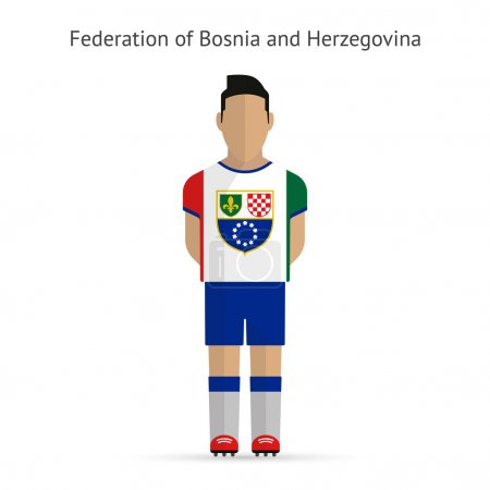 Federation of Bosnia and Herzegovina football player.