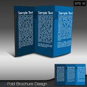 Modern Tri-Fold Brochure Design Layout