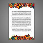 Paper Design Element
