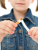 Leszokni a dohányzásról koncepció