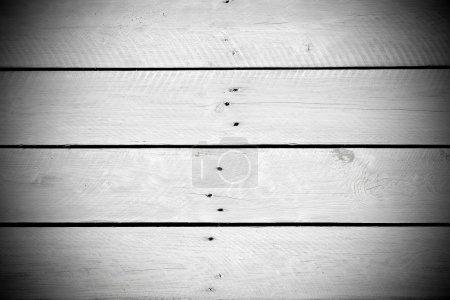 Photo pour Fond de lattes en bois blanc - image libre de droit