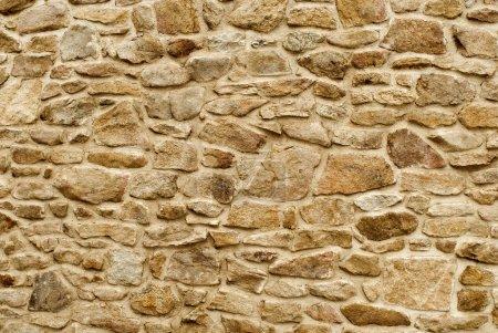 Photo pour Fond de mur en pierre - image libre de droit