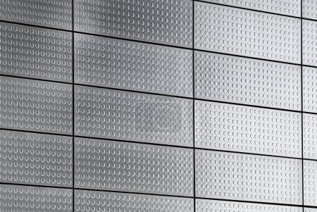 Photo pour Fond de plaque métallique - image libre de droit