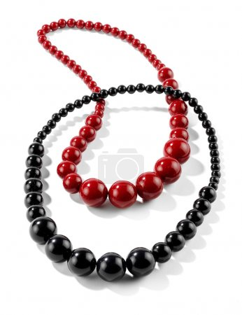 black and red collars