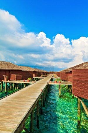 Tropical Water Bungalows, Maldives